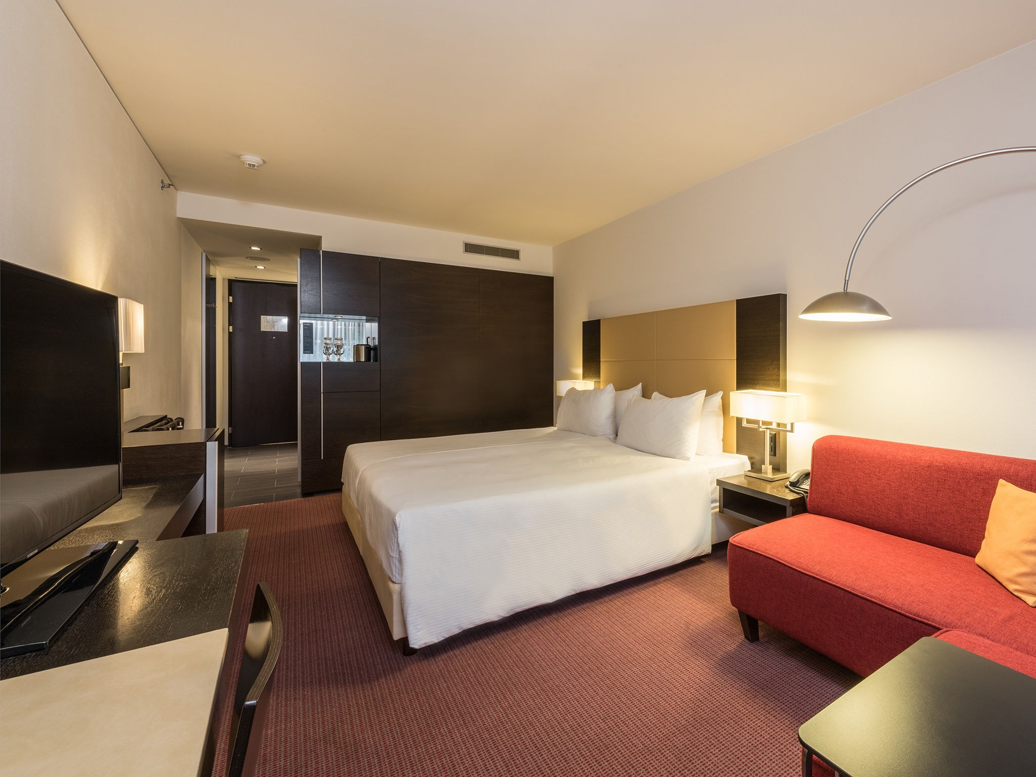 Le camere nel Four Points by Sheraton Zurigo